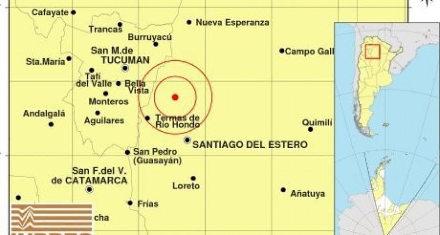Tembló Santiago y se sintió en Tucumán