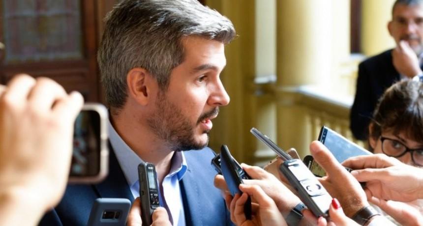 Marcos Peña ratificó los aumentos de los servicios