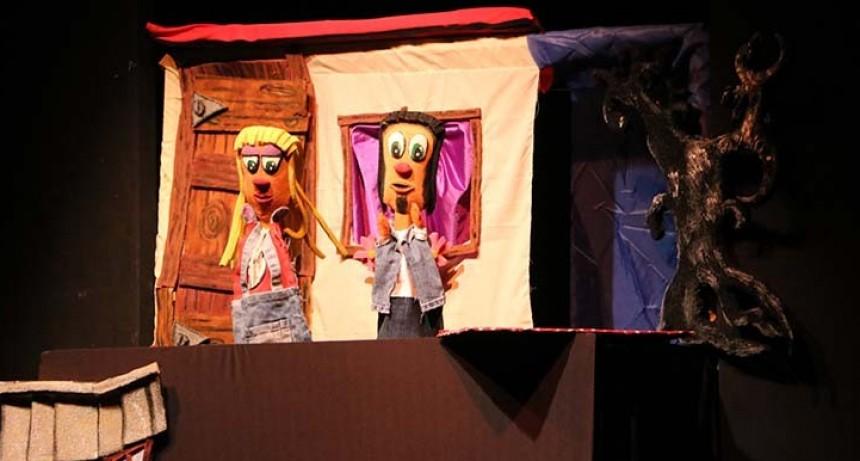 """Teatro Estable de Títeres y Marionetas presenta """"Sirulfo y el Diablo"""""""