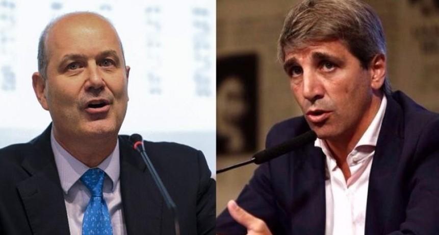 Por corrida cambiaria, renunció Sturzennegger y Caputo será el presidente del BCRA