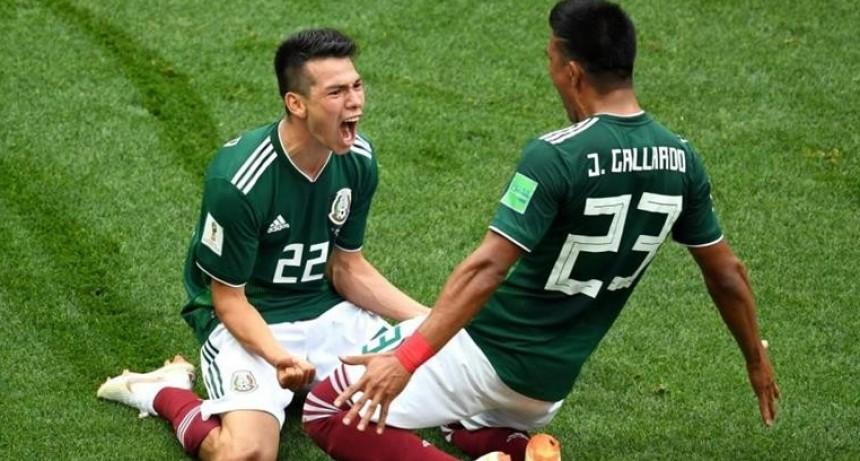 México sorprendió a Alemania y logró un triunfo inmenso