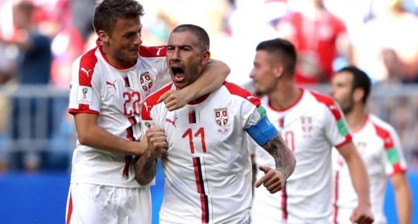 Serbia triunfo 1-0 sobre Costa Rica