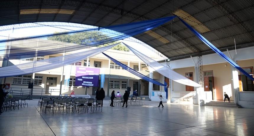 La centenaria escuela de Villa Luján fue refaccionada a nueva