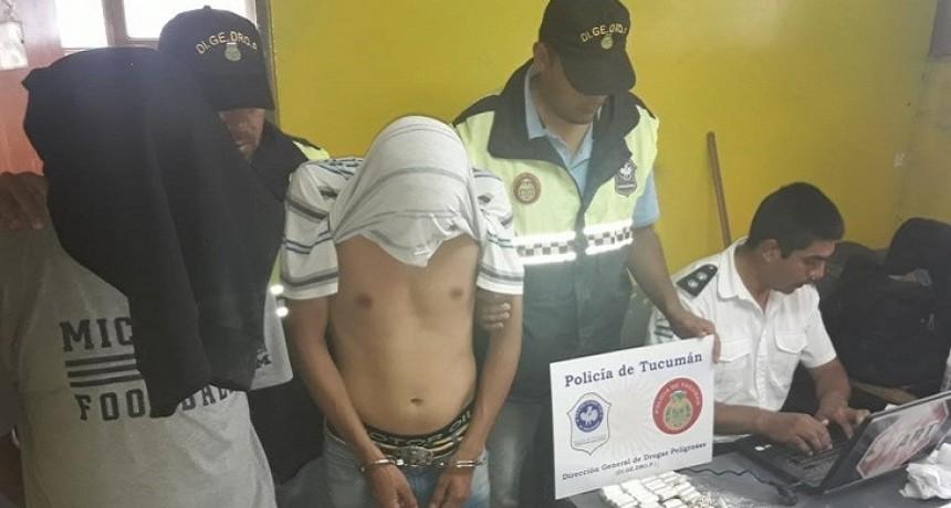 Aprehenden a dos hombres en la terminal por tráfico de drogas