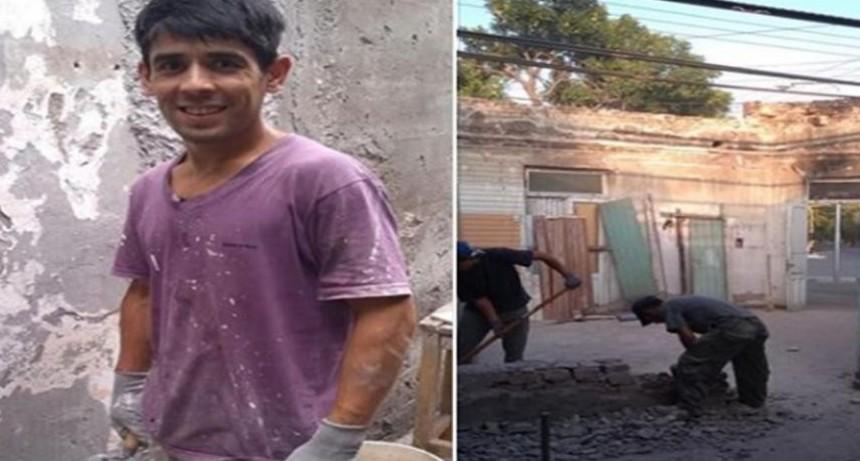 Albañil encontró $250.000 entre los escombros de una obra y los devolvió al dueño