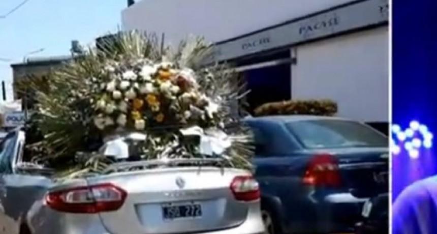Profundo dolor en la despedida a Germán Chávez, el cajero asesinado en el asalto al Banco Nación