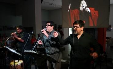 Los sobrinos cantores de Mercedes Sosa en el Virla
