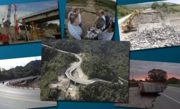 Un año después, seis puentes colapsados ya fueron reparados en Tucumán