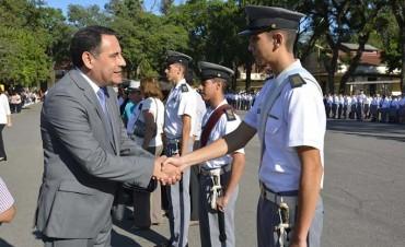 El PE participó del acto de inicio de clases del Liceo Aráoz de La Madrid