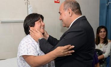 Manzur saludó a todas las tucumanas por el Día de la Mujer