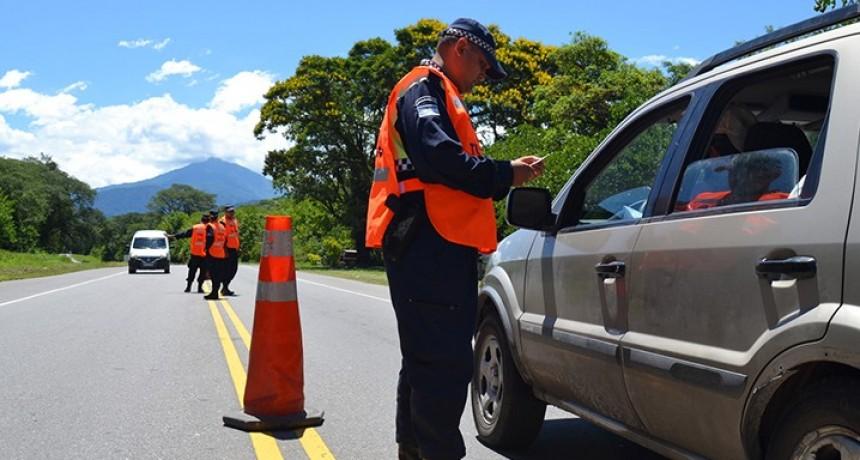 Reforzarán los controles vehiculares durante Semana Santa