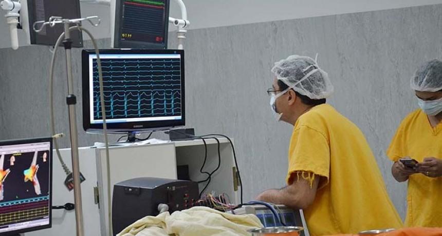 El Hospital Padilla aplica nueva tecnología para curar arritmias