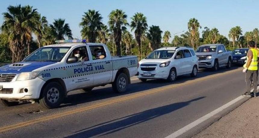 Casi 500 personas detenidas el fin de semana