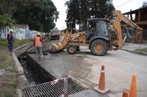 Obras pluviales evitarán anegamientos en Las Talitas