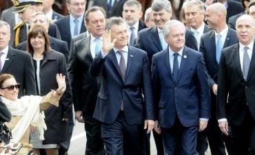 Macri participó de su primer Tedeum como presidente