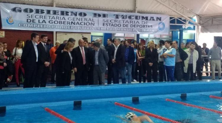Tucumán cuenta con la primera pileta climatizada pública