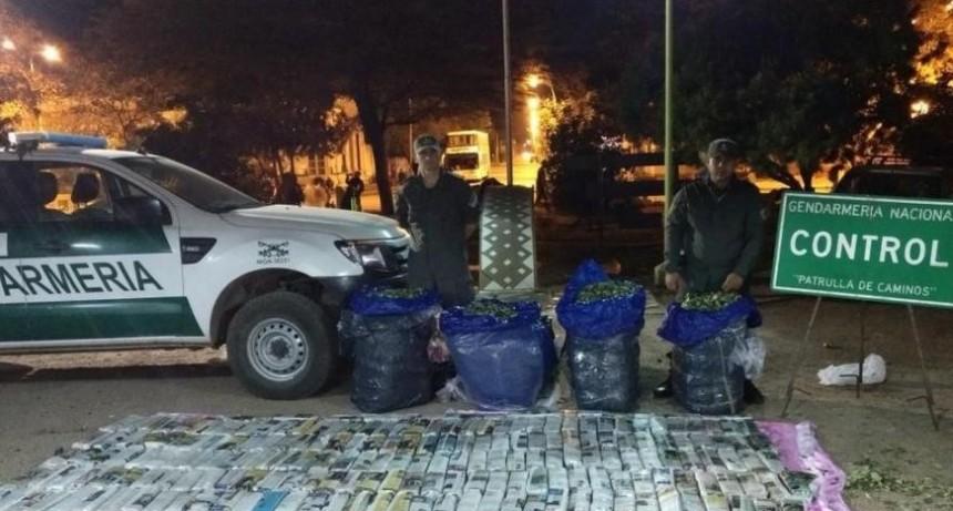 Gendarmería de Santiago del Estero confiscó mercadería ilegal por $ 3,5 millones