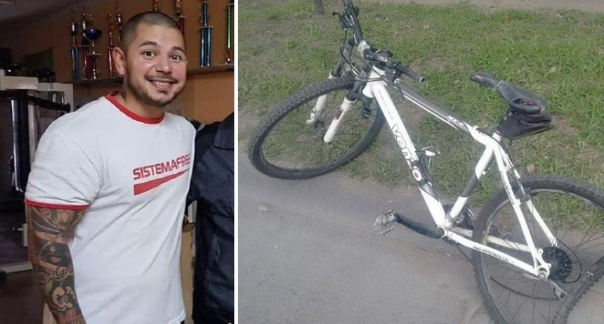 El ciclista que murió arrollado por un auto era un conocido culturista