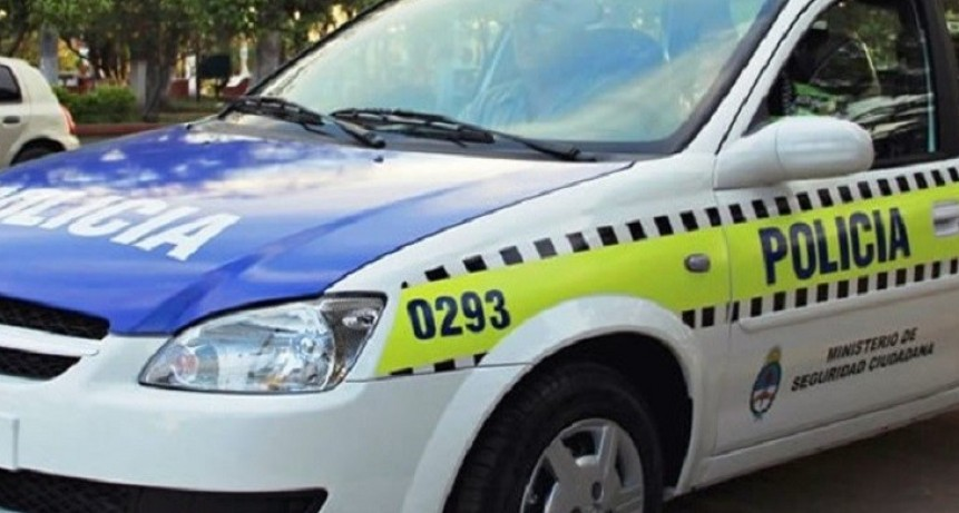 Encontraron al niño que estaba en el interior de un auto robado