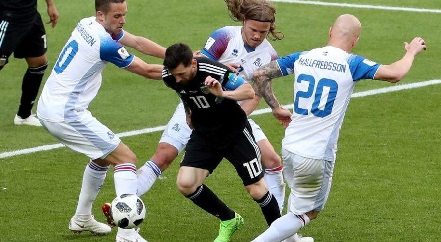 Argentina empata 1-1 con Islandia
