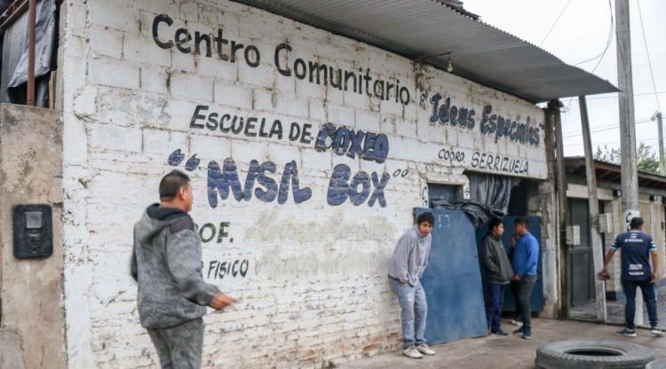 El boxeo en los barrios, un aliado contra las adicciones