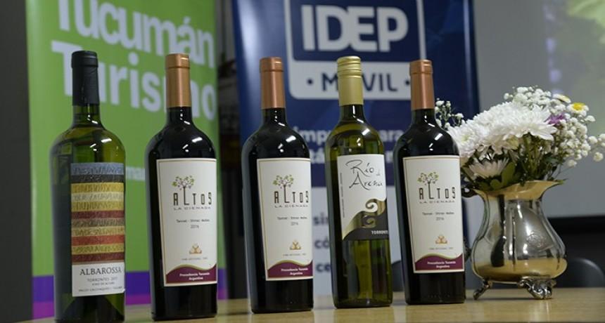 Las bondades del vino tucumano destacadas por expertas catadoras
