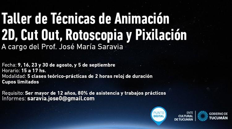 Comienza un taller de técnicas de animación audiovisual