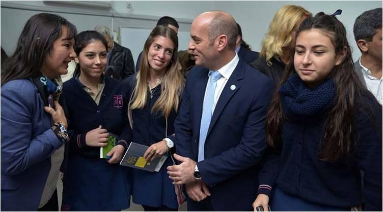 Lichtmajer resaltó los logros del ministerio de Educación