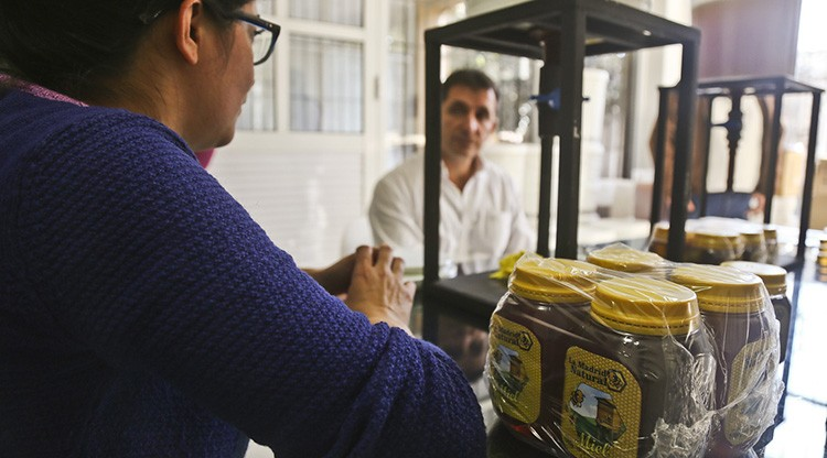 Respaldan a un emprendimiento apícola de San Andrés