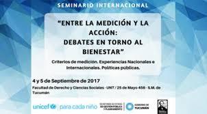 Tucumán será sede de un seminario de Unicef sobre bienestar