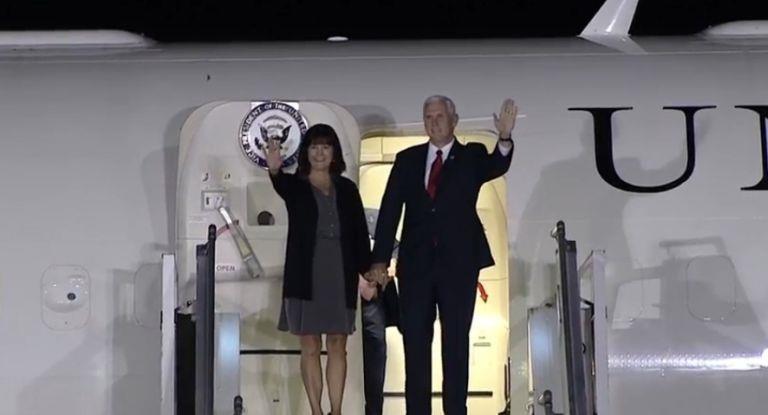 El vicepresidente de EEUU arribó al país en el marco de su gira por América latina