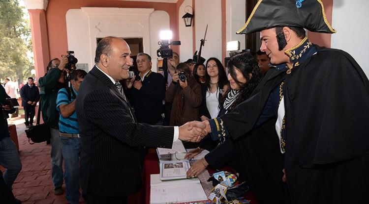 La Ramada homenajeó al General San Martín a 167 años de su muerte
