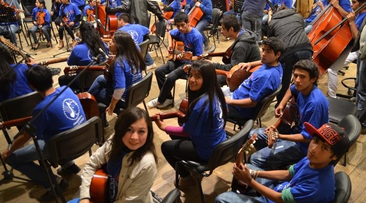 Orquestas juveniles se dan cita para capacitaciones e intercambio