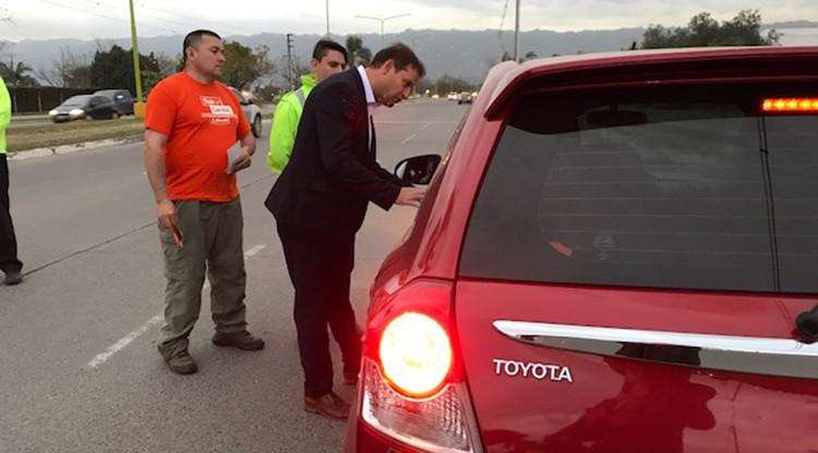 Radar: de 800 vehículos, 100 excedían la velocidad permitida en Yerba Buena