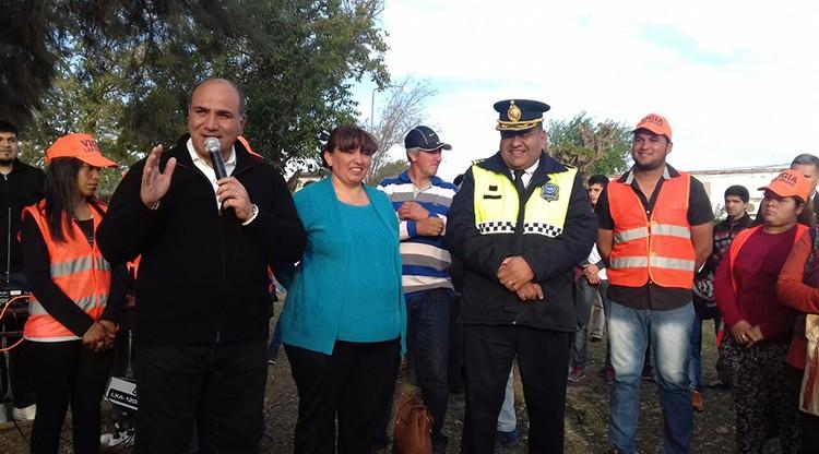 Las Cejas tiene nueva comisaría, pista de salud e iluminación