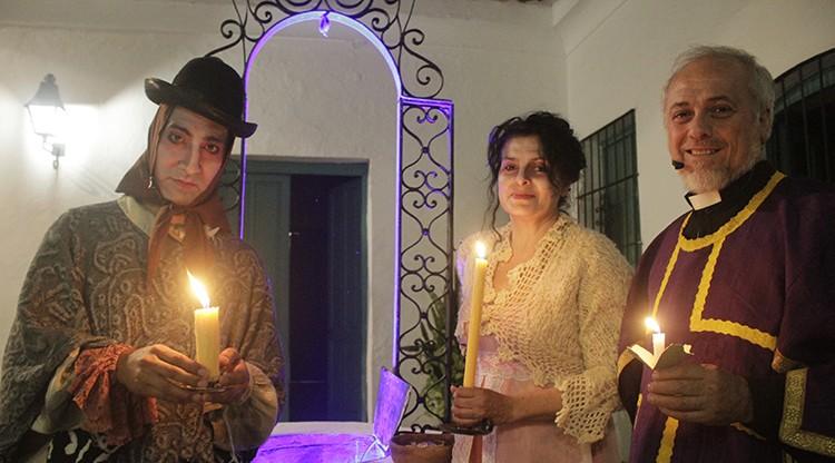 Vuelve 'Fanstasmas con velas' al Museo Folclórico