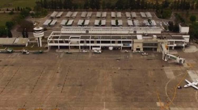 Aeropuerto: Utilizaron 65 mil metros cúbicos de hormigón