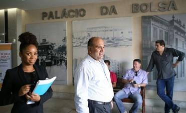 Buscan el intercambio comercial con la Bolsa Alimenticia de Río