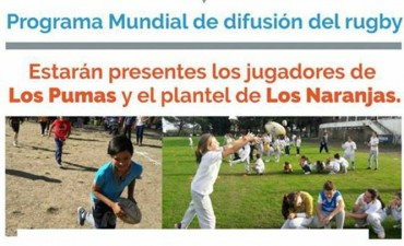 ¡Probá ser un Puma!: Prácticas de rugby para niños y niñas