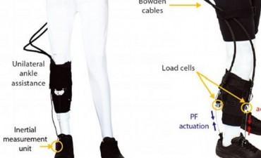 """Un """"robot"""" que ayuda a caminar a pacientes con secuelas de ACV"""