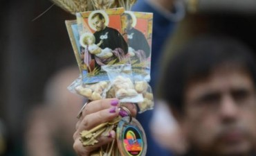San Cayetano: por pan y trabajo