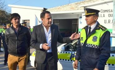 Entregaron un nuevo patrullero en Villa Quinteros