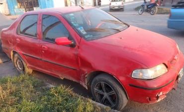 Secuestran un auto sospechado de intervenir en un accidente