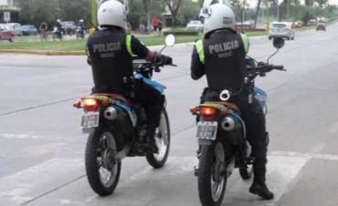 Detienen a un motoarrebatador en Yerba Buena