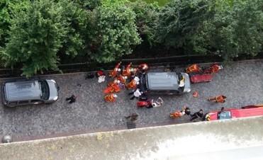 Otro ataque en París: un auto atropelló e hirió a 6 militares