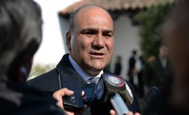Manzur volvió a pedirle a los tucumanos que vayan a votar