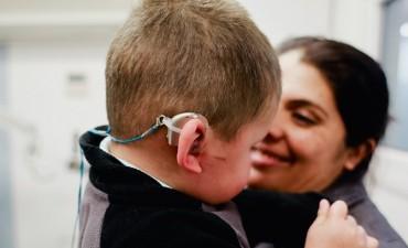 El Hospital de Niños realiza implantes cocleares gratuitos