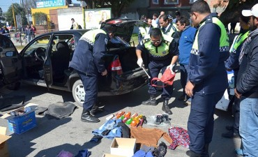 Atrapan a banda que robaba autos con inhibidores de alarmas