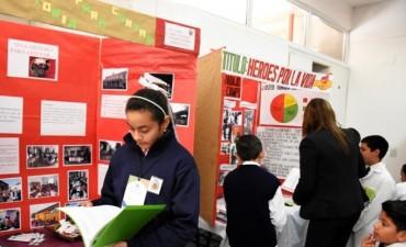 Alumnos presentaron sus proyectos en la Feria de Ciencias