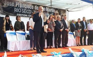 Rio Seco rindió homenaje al Libertador de América